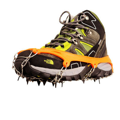 Ice Snow Shoes Spike Grip Boots Chain Crampons Grippers 11-Teeth Point