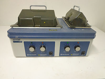 Fisher Scientific Isotemp Water Bath 115 Dual Chamber FOR PARTS