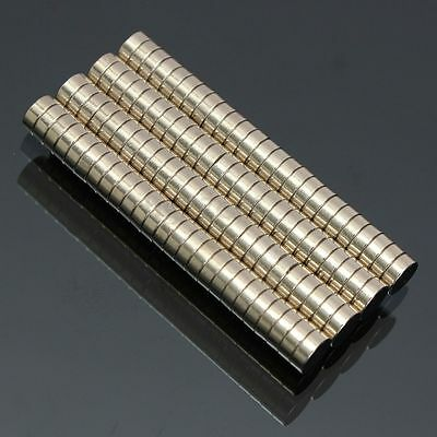 100pcs Rare Earth Magnets Neodymium Disc 5x2mm N52 Super Strong Round Magnets