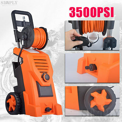 Professional High Pressure Washer Electric Water Cleaner Spray Gun 3200W 3500PSI