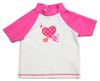 Toddlers Cupid Girl White Pink Rash Top Vest + My Little Pony Cotton Beach Towel