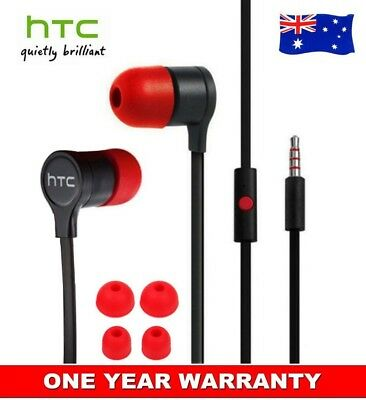 Original Genuine Stereo Earphone Headset With Remote Mic for HTC One M8 M7 Max