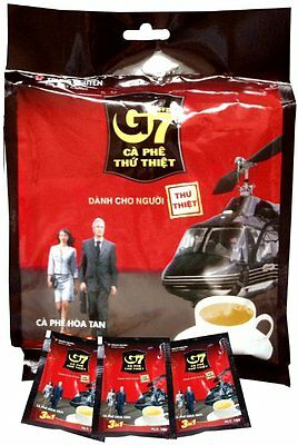 G7 3-in-1 Instant Coffee, 50 Sachets by  G7  (freeze dried ,Great for travelers)
