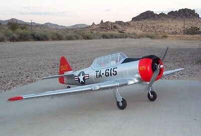 Large AT-6 Texan 4Ch 2.4GHz RTF RC Radio Controlled Aeroplane Plane W/ Retracts