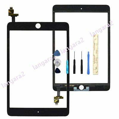 Replacement For iPad Mini 3 Touch Screen Digitizer Panel With IC Connector black