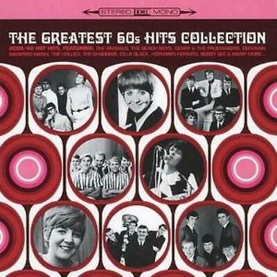 Various Artists : The Greatest 60s Hits Collection CD 2 discs (2006) Great Value