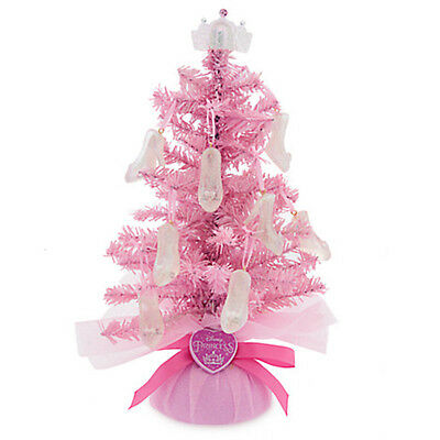 disney parks princess christmas holiday tree with slippers decorations new  tags