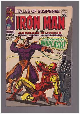 Tales of Suspense # 97  First appearance of Whiplash !   grade 7.5 scarce book !