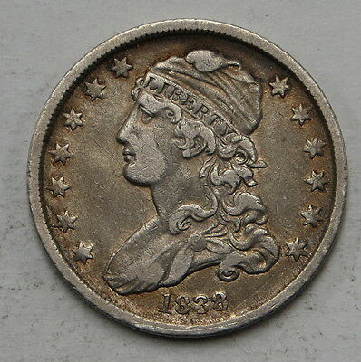 1838 Capped Bust Quarter ungraded