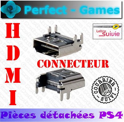 Connecteur socket port audio video 19 pin HDMI connector console Playstation PS4