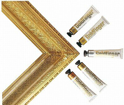 Daler Rowney Goldfinger Metallic Rub-On Paste for Picture Frames and Arts Crafts