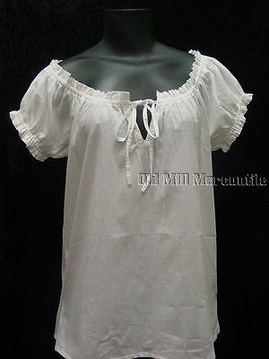 Cotton camisole ren fair Renaissance Victorian corset cover sizes S-XL