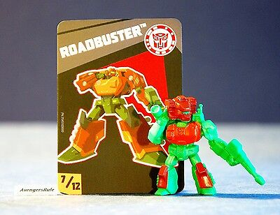 Transformers Tiny Titans Series 4 Robots in Disguise 7/12 Roadbuster