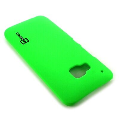 For HTC One M9 Hard Case Slim Matte Back Phone Cover - Lime Green