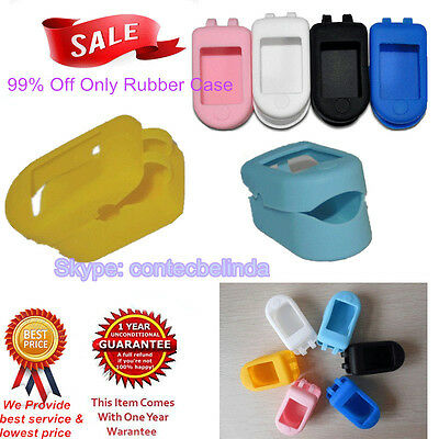 6 Colours Soft Rubber case Cover for Protecting Pulse Oximeter CMS50D/CMS50DL