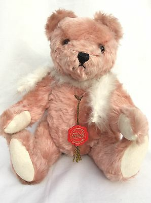 Hermann Bear Pink with Growler 34cm