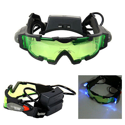 Adjustable Elastic Band Military Night Vision Goggles Glasses Security Eyeshield