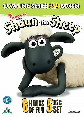 Shaun the Sheep: Complete Series 3 and 4 (Box Set) [DVD]
