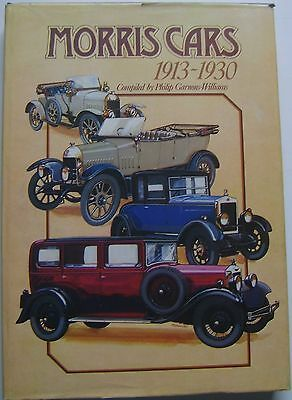 Morris Cars 1913-1930 by Garnons-Williams Signed Limited Ed. No. 206 412 pages