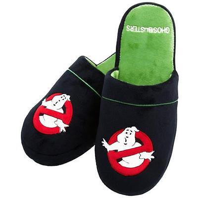 Ghostbusters - Movie Logo Anti-Slip Sole Mule Slippers  - New & Official