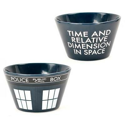 Dr Who - Tardis Ceramic Stoneware 5 Inch Cereal Bowl - New & Official BBC