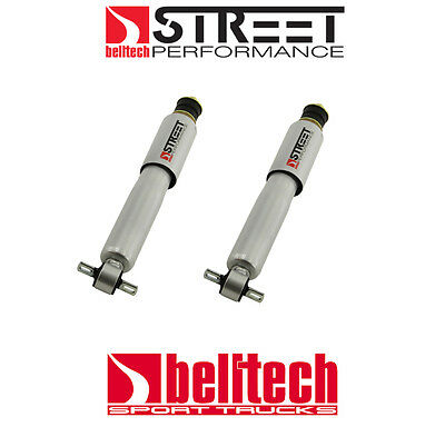 """82-04 S10/Sonoma 2WD Street Performance Front Shocks for 2"""" - 5"""" Drop (Pair)"""