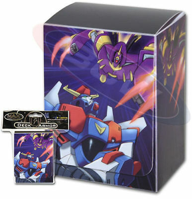 Yugioh Max Protection Robo War Deck Box w Divider (Holds 75 Cards)
