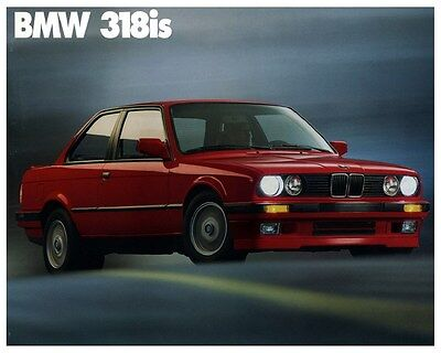1990 1991 BMW 318is Automobile Photo Poster zca3175