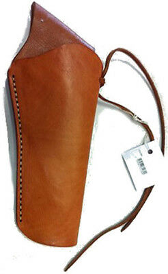 Western Brown Leather CrossDraw Holster- Right
