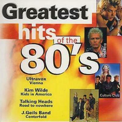 Various : Greatest Hits Of The 80's CD (1998)