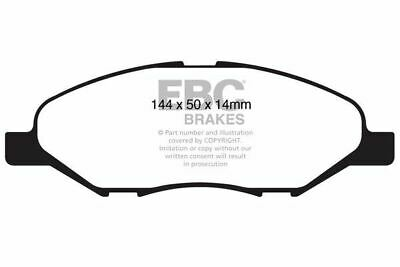 DP1832 EBC Ultimax Front Brake Pads for NISSAN Cube Tiida