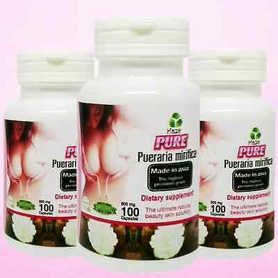 Pueraria Mirifica, Bust Firming Breast Enlargement Capsules, Free Ship