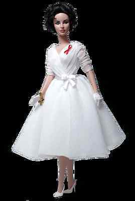Gold Label Elizabeth Taylor White Diamonds Silkstone Barbie Doll