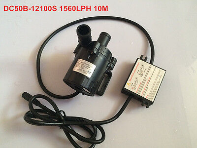 High Pressure Pumps 1560LPH 10M High Lift, 5-12V DC Submersible Small Water Pump