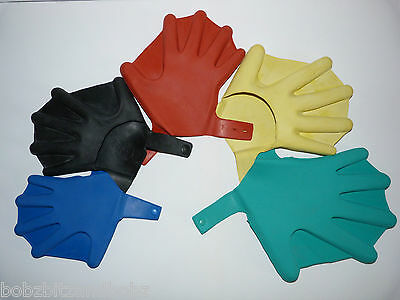 Swimming Gloves. Extra Power In The Water Hand Flippers Free P&p