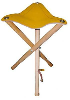Daler Rowney Artists Stool - Wooden with Leather Seat