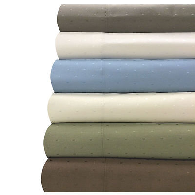 King-Size 600 Thread Count Woven Dots Sheets Collection