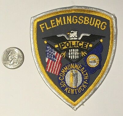Flemingsburg Kentucky Police Department Patch Ky