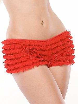COQUETTE #114 Rüschen Shorty sexy Panty Shorts Hotpants Slip Dessous Mieder sexy