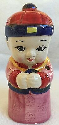 Chinese Boy Ceramic Mug Tiki