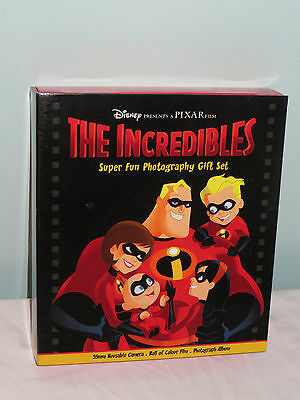 The Incredibles super fun Children's photography gift set. New Disney. Camera