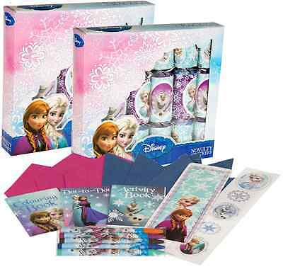 12 x 30CM DISNEY FROZEN CHRISTMAS CRACKERS DINNER TABLE PARTY DECORATIONS 277026