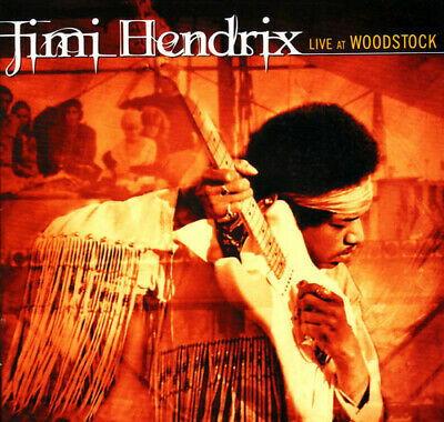 Jimi Hendrix : Live at Woodstock CD (2015) ***NEW***