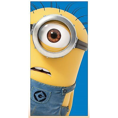 Despicable Me Minon Large Beach Bath Towel 100% Cotton