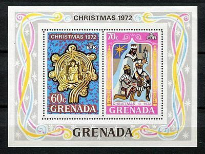 Grenada 1972 Christmas MS MNH