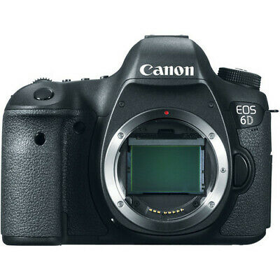 Canon EOS 6D 20.2MP Full-Frame CMOS Sensor DSLR Digital Camera (Body Only) NEW