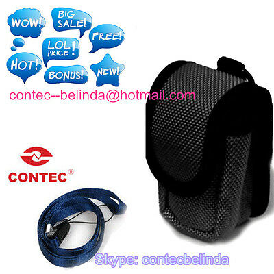 Small Carrying Case Black Nylon Soft Bag ,pouch ,Carrying Case + Hanging Rope