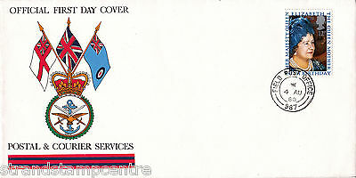 1980 Queen Mother - BFPS Cover - Field Post Office 987 CDS