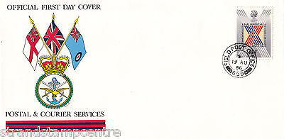 1986 Parliament - BFPS Cover - Field Post Office 659 CDS