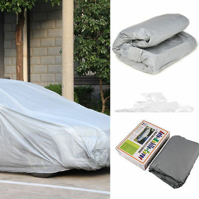 Small Size S Full Car Cover UV Protection Waterproof Outdoor Breathable AY
